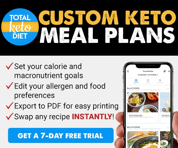 Custom Keto Meal Plans