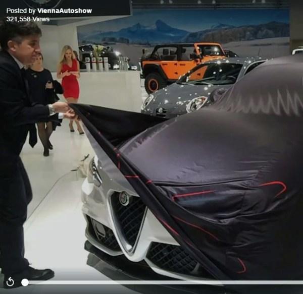 Vienna Autoshow | Virales Facebook Posting