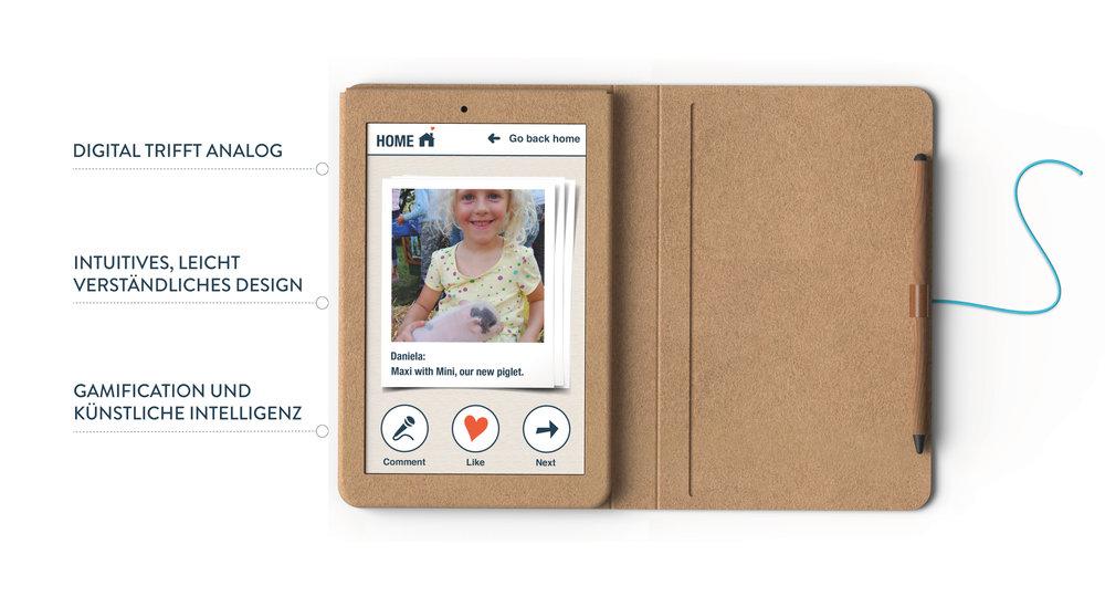 KAMA   die großmutterfreundliche App   Facebook & Twitter Kampagne