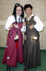 Me and Jade at Costume College