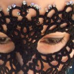 Tatted Lace Mask