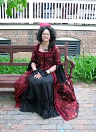 Trystan at Colonial Williamsburg
