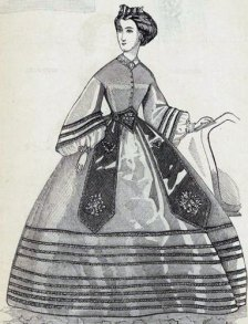 Eugenie fashion plate (image source: New York Public Library)