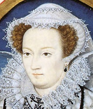 1578 - Mary Queen of Scots by Nicholas Hilliard (image source: Wikimedia Commons)