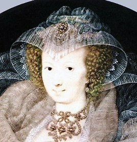 1595 - Frances Howard, Countess of Somerset, by Isaac Oliver