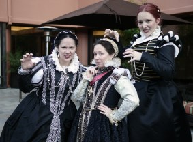Three evil ladies