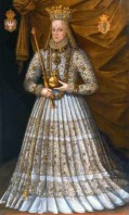 1576 - Queen Anna Jagiellon of Poland by Martin Kober (image source: Wikimedia Commons)