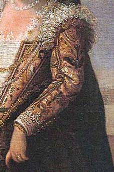 1595 - Venetian woman by Paolo Fiammingo