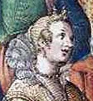 1590 scene from a ball by Giacomo Franco