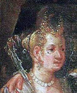 1575 painting by Ludovico Pozzoserrato