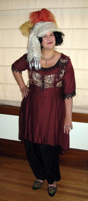 Lady Constance a la Indienne