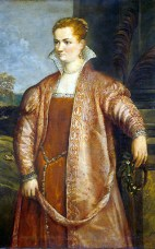 1560 - Irene di Spilimbergo by Follower of Titian (image source: National Gallery of Art)