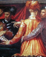 1560s - Couple by Niccolo dell'Abbate (image source: aneafiles.webs.com)