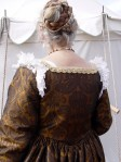 Back of gown, photo by Sandra Linehan