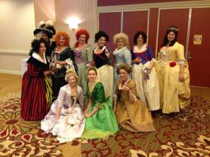 18th-c. Disney Villains & Princesses, photo by Sarah Constable