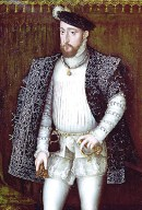 1550s. Henry II. King of France, by the workshop of François Clouet. Image source: Wikimedia Commons