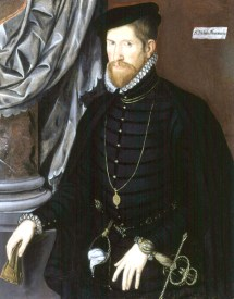 1562, Sir Nicholas Throckmorton. Image source: Wikimedia Commons