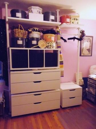 new IKEA storage unit