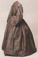 Charlotte Brontë's going-away dress, image from The Brontë Society Collections