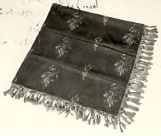 A shawl owned by Charlotte Brontë, image from The Brontë Society Collections