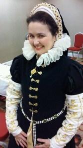 Elizabeth de Belcaire's 1560s ensemble