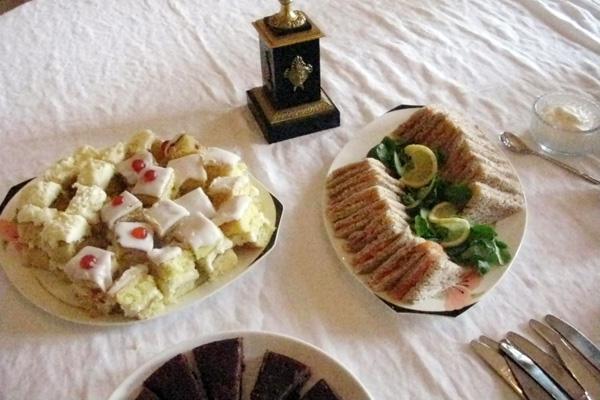 Tea sandwiches in France