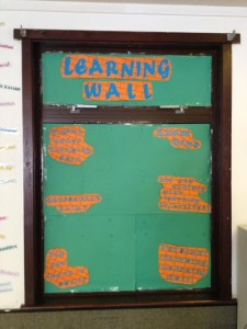 Graffiti Board/Learning Wall