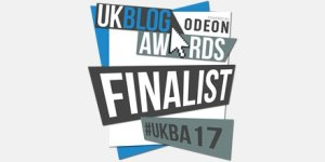 UK Blog Awards- Finalist