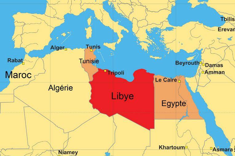 Carte Algerie Libye.Libye Nouvelles Frappes Egyptiennes Affrontements A