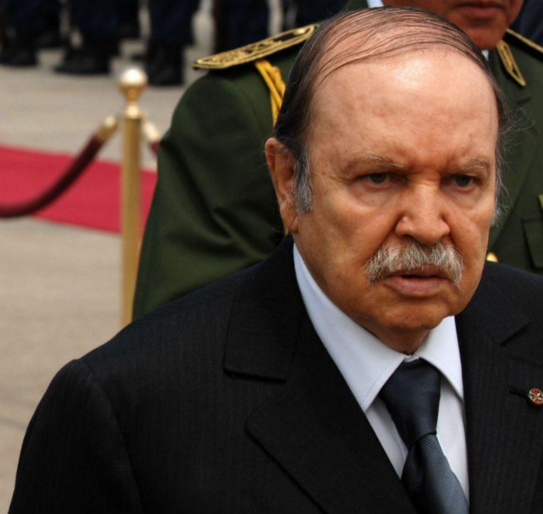 Abdelaziz Bouteflika, président de la République (Photo archive : le 18 mai 2011)