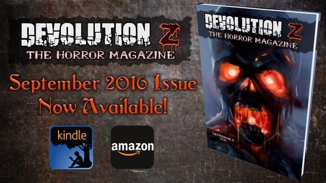 Devolution Z September 2016: The Horror Magazine