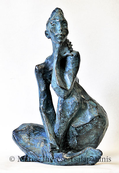 sculpture-marie-therese-tsalapatanis-réflexion