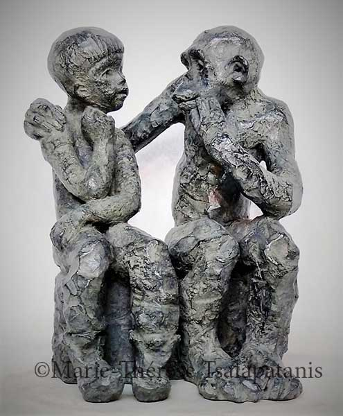 sculpture-marie-therese-tsalapatanis-Dialogue (5)