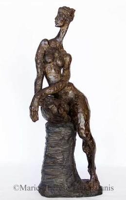 sculpture-marie-therese-tsalapatanis-Sentinelle2