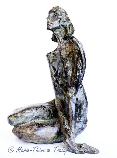 sculpture-marie-therese-tsalapatanis-sphinge