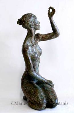 sculpture-marie-therese-tsalapatanis-Espérance2