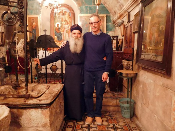 With Fr.Iustin (Jacob's Well monastery)
