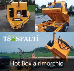 Rigeneratore Hot box a rimorchio