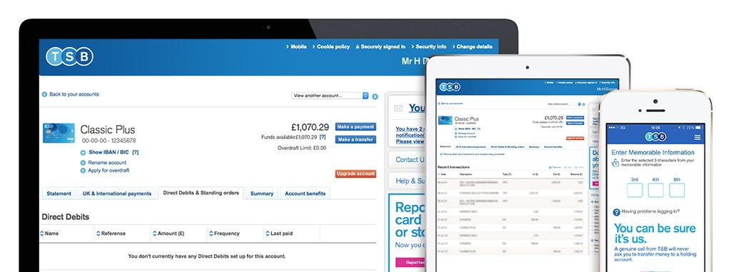 Internet Mobile Banking Online Tsb Bank