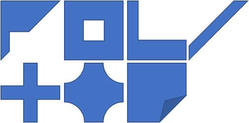 フレーム・縞・L字十字・ブローチ・メモの変形例