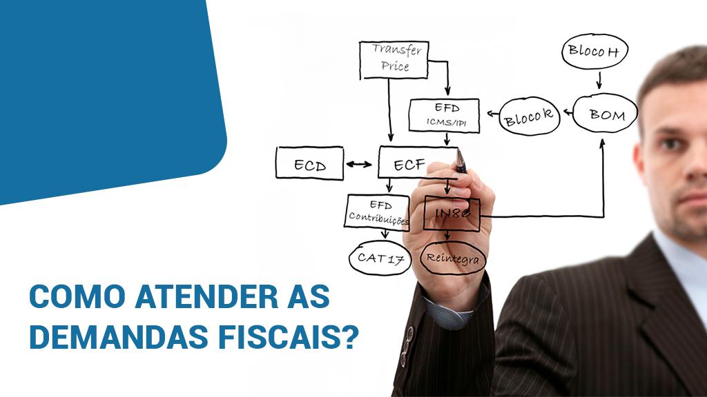 Como atender as demandas fiscais, sem descuidar das exigências internas das empresas?