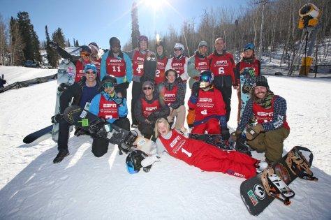 all the United Snowboard competitors