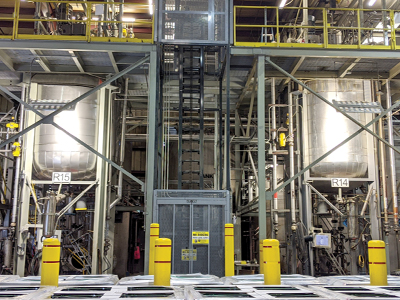 Reactors in Specialty Chemicals Division