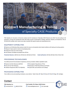 Specialty Chemicals for CASE Products