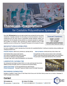 Thanecast Prepolymer