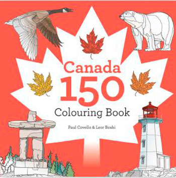 Canada-150-Colouring-Book