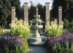 The Hendrie Park Rose Garden at the Royal Botanical Gardens
