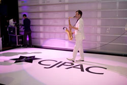Dance Floor Decor puts your logo where the action is