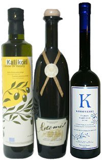 Gift sets from the Olive Oil Emporium