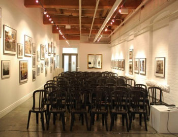 Gallery 345 sets up in several different configurations